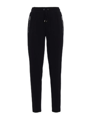 Michael Kors: casual trousers - Viscose jersey trousers