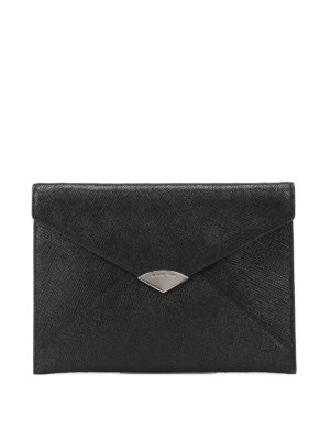 Michael Kors: clutches - Barbara envelope leather clutch