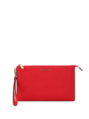 Michael Kors: clutches - Daniela saffiano large clutch