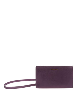 Michael Kors: clutches - Jet Set Travel L leather clutch