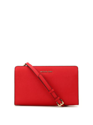 Michael Kors: clutches - Jet Set Travel large clutch