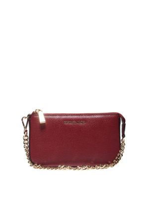 MICHAEL KORS: pochette - Clutch in pelle Medium Chain