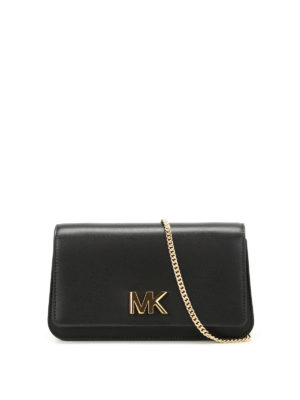 Michael Kors: clutches - Mott large leather clutch