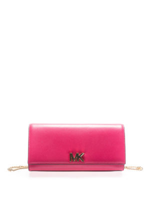 Michael Kors: clutches - Mott leather clutch