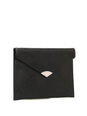 Michael Kors: clutches online - Barbara envelope leather clutch
