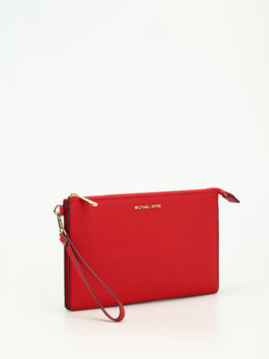 Michael Kors: clutches online - Daniela saffiano large clutch
