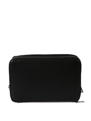 Michael Kors: clutches online - Harrison saffiano leather clutch