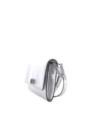 Michael Kors: clutches online - Mott embossed laminated leather bag