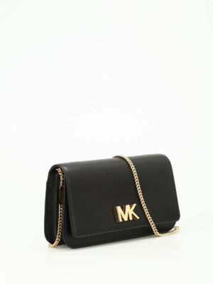Michael Kors: clutches online - Mott large leather clutch