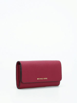 Michael Kors: clutches online - Wallet on a chain saffiano clutch
