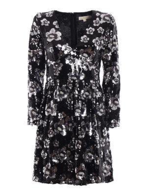 Michael Kors: cocktail dresses - Bead and sequin embellished dress