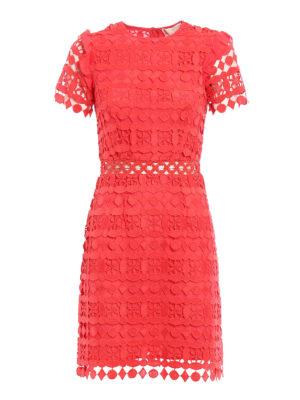 Michael Kors: cocktail dresses - Macramé fitted dress