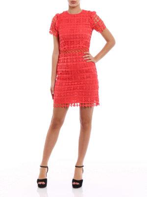 Michael Kors: cocktail dresses online - Macramé fitted dress