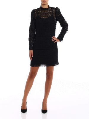 Michael Kors: cocktail dresses online - See-through lace tunic dress