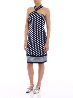 Michael Kors: cocktail dresses online - Viscose polka dot dress
