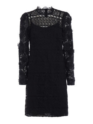 Michael Kors: cocktail dresses - See-through lace tunic dress