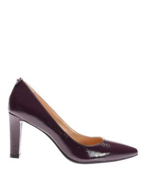 Michael Kors: court shoes - Abbi Flex patent pumps