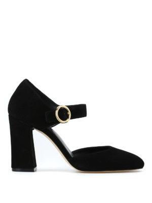 MICHAEL KORS: scarpe décolleté - Décolleté nere Alana in pelle scamosciata