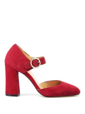 MICHAEL KORS: scarpe décolleté - Décolleté Alana scamosciate color mora