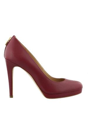 MICHAEL KORS: scarpe décolleté - Décolleté Antoinette in pelle