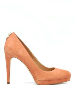 MICHAEL KORS: scarpe décolleté - Décolleté Antoinette in camoscio