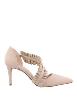 MICHAEL KORS: scarpe décolleté - Décolleté rosa a punta Bella
