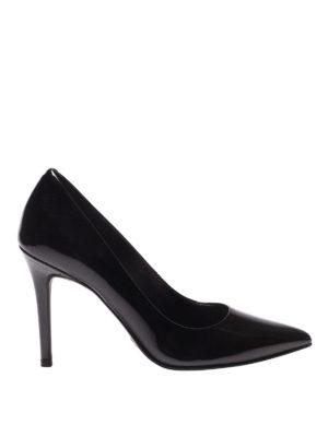 MICHAEL KORS: scarpe décolleté - Décolleté nere Claire in vernice