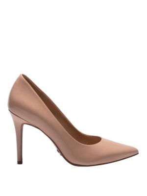 MICHAEL KORS: scarpe décolleté - Décolleté Claire in vernice color carne