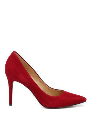 MICHAEL KORS: scarpe décolleté - Décolleté a punta Claire in camoscio