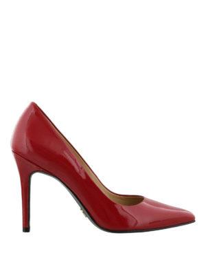 MICHAEL KORS: scarpe décolleté - Décolleté Claire in vernice rossa