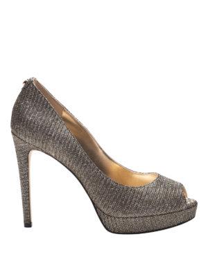 MICHAEL KORS: scarpe décolleté - Décolleté peep-toe Erika
