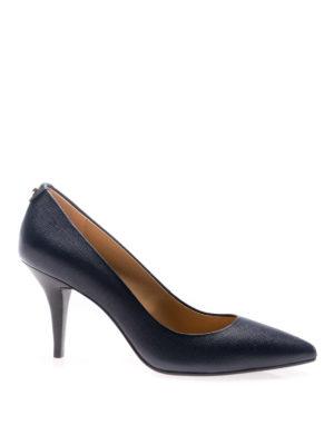 Michael Kors: court shoes - Flex admiral leather mid pumps