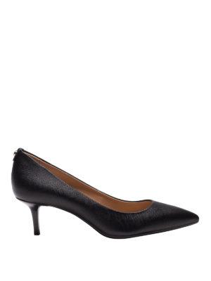 MICHAEL KORS: scarpe décolleté - Décolleté nere Flex con tacco a rocchetto