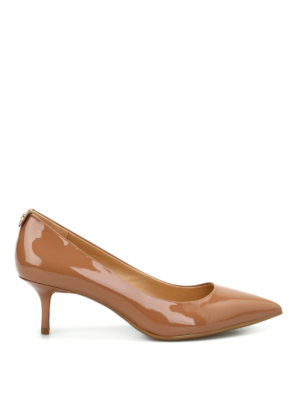 Michael Kors: court shoes - Flex Kitten patent leather pumps