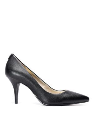 Michael Kors: court shoes - Flex leather mid pumps