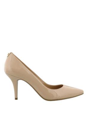 MICHAEL KORS: scarpe décolleté - Décolleté in vernice Flex Mid-heel