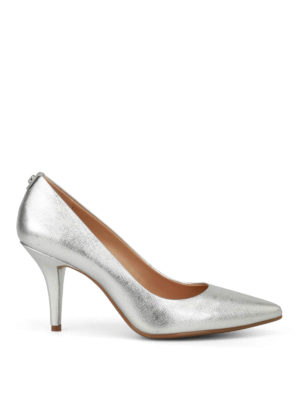 Michael Kors: court shoes - Flex Mid Pump in dauphine leather
