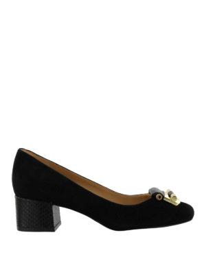 Michael Kors: court shoes - Gloria Kiltie fringed mid pumps