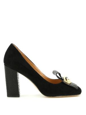 Michael Kors: court shoes - Gloria Kiltie fringed suede pumps