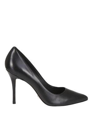 MICHAEL KORS: scarpe décolleté - Décolleté classica a punta in pelle