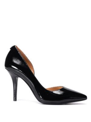 Michael Kors: court shoes - Nathalie Flex patent leather pumps