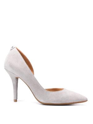 Michael Kors: court shoes - Nathalie Flex suede pumps