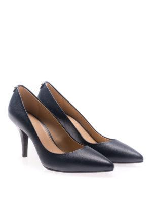 Michael Kors: court shoes online - Flex admiral leather mid pumps
