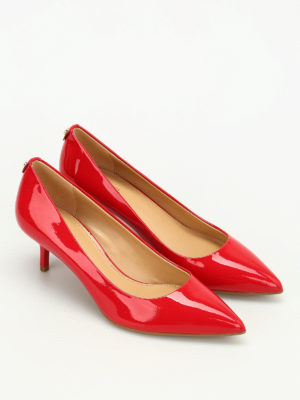 Michael Kors: court shoes online - Flex Kitten patent leather pumps