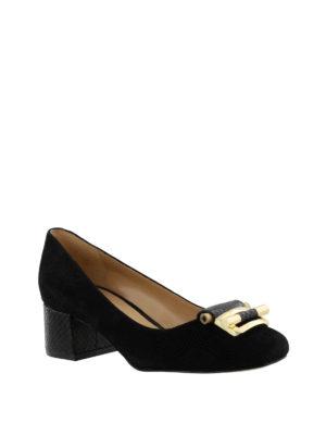 Michael Kors: court shoes online - Gloria Kiltie fringed mid pumps