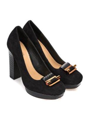 Michael Kors: court shoes online - Gloria suede pumps
