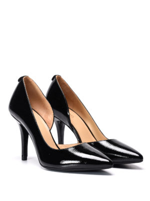 Michael Kors: court shoes online - Nathalie Flex patent leather pumps