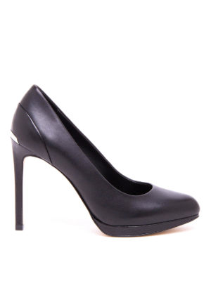 Michael Kors: court shoes - Yasmin smooth leather pumps