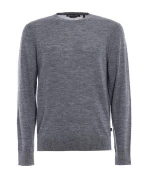 Michael Kors: crew necks - Extra fine merino wool crewneck