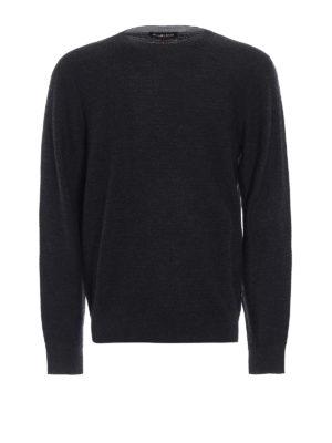 Michael Kors: crew necks - Melange wool blend sweater
